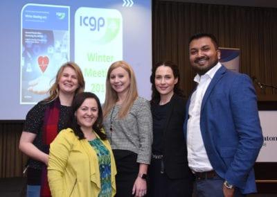 Clare Kelly, Irina Berkun, Laura Noonan, Sinead McEoin, Rukshan Coonewardena