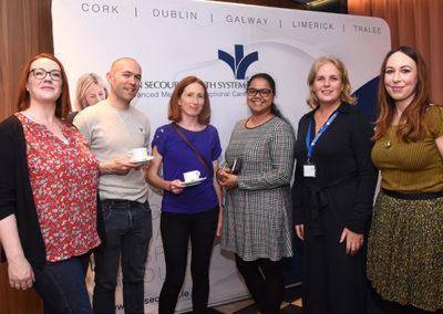 Dr Kathryn Kavanagh, Dr Paddy Kelly, Dr Claire O'Sullivan, Dr Sheebani Jadhav, Ms Anna-Lise Mion, Bon Secours, Dublin, Dr Aileen Twomey